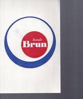REF EX2 : Buvard Biscuits Brun - Altri