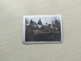 WWII Foto    Wehrmacht  SOLDATEN Panzer TANK 1941 Stug III - 1939-45