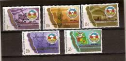Burundi 1987 OBCn° 954-58 *** MNH Cote 55 Euro - 1980-89: Neufs