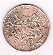 10 CENTS  1978 KENIA /6217// - Kenya