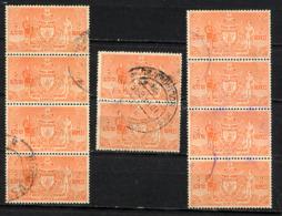 NEPAL 1961, Yvert Service 11, 2R, 1 Valeur X 10 Exemplaires, Oblitérés / Used. R864x10H - Nepal