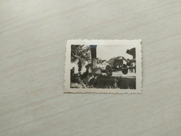 WWII Foto    Wehrmacht  SOLDATEN Panzer TANK Pantera 1945 - 1939-45