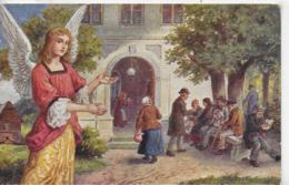 AK 0306  Engel Mit Armenhaus - Schmiedeberg ( Böhmen ) Um 1910-20 - Engel