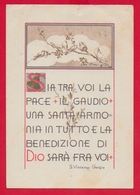 CARTOLINA VG ITALIA - Sia Tra Voi La Pace ... - S. Vincenza GEROSA - Suore Di Carità - 10 X 15 - 1968 - Santi