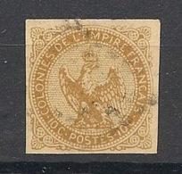 Colonies Générales - 1859 - N°Yv. 3 - Aigle 10c Bistre - Oblitéré / Used - Aigle Impérial