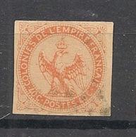 Colonies Générales - 1859 - N°Yv. 5 - Aigle 40c Vermillon - Oblitéré / Used - Aigle Impérial