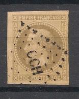 Colonies Générales - 1871 - N°Yv. 9 - Napoléon III 30c Brun - Oblitéré / Used - Cochinchine - Napoléon III