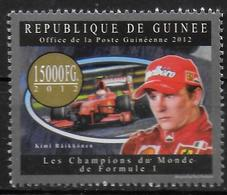 GUINEE  N° 6564 * *   Automobile  Formule 1 Raikkonen - Automobile