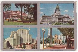 °°° 13751 - ARGENTINA - VIEWS OF BUENOS AIRES - PUBBLICITA PENTOTHAL SODIUM - With Stamps °°° - Argentina