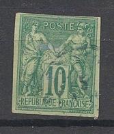 Colonies Générales - 1877 - N°Yv. 32 - Sage 10c Vert - Oblitéré / Used - Sage
