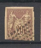 Colonies Générales - 1877 - N°Yv. 34 - Sage 20c Brun - Oblitéré / Used - Sage