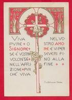 CARTOLINA VG ITALIA - Viva Pure O Signore ... - S. Vincenza GEROSA - Suore Di Carità - 10 X 15 - 1967 - Santi