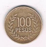 100 PESOS 1995  COLOMBIA /6323/ - Kolumbien