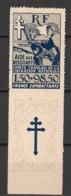 Colonies Générales - 1943 - N°Yv. 65 - Aide Aux Résistants - Neuf * / MH VF - Sonstige