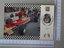 GRAND PRIX - JACKIE OLIVIER -  LOTUS 49 MK2 -   2 SCANS    - (Nº30457) - Grand Prix / F1