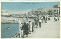 Morecambe 1950; Promenade - Circulated. (Lancester Paper) - Angleterre