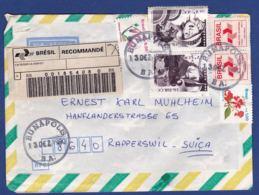 Brief In Die Schweiz (br8017) - Brazilië