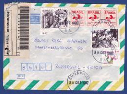 Brief In Die Schweiz (br8018) - Brazilië