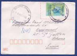 Brief  In Die Schweiz (br8022) - Brazilië