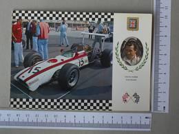 GRAND PRIX - DAVID HOBBS -  HONDA RA 302 -   2 SCANS    - (Nº30461) - Grand Prix / F1