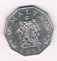 50 CENT 1972 (mintage 13000ex)MALTA /6323/ - Malte