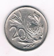 20 CENTS 1984 ZUID AFRICA .6327/ - Afrique Du Sud
