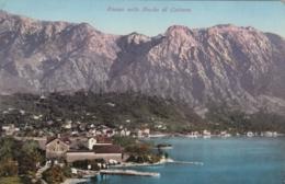 AK – (Montenegro) - RISANO (Risan) I/d Bucht Von Kotor - Blick A/d Stadt 1910 - Montenegro