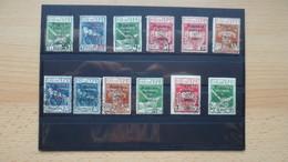 Rest Fiume - Alle Abgebildet - Briefmarken