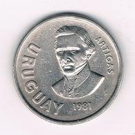 10 PESOS 1981 URUGUAY /6329/ - Uruguay