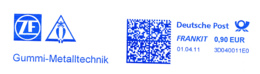 Freistempel 6470 Eule Gummi Metalltechnik - Machine Stamps (ATM)