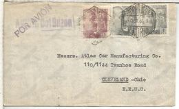 MADRID CC A USA 1946 CORREO AEREO CON MARCA AVION: DEL BUZON - 1931-50 Briefe U. Dokumente