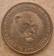 1 Médaille Monnaie De Paris CHATEAU ET PARC DE THOIRY RESERVE AFRICAINE 2003 - 2003