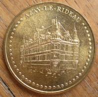 1 Médaille Monnaie De Paris AZAY LE RIDEAU 2011 - Monnaie De Paris