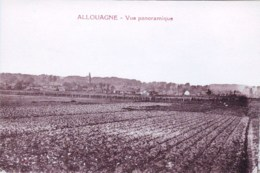 62 - Pas De Calais - ALLOUAGNE -  Vue Panoramique - Francia