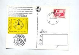 Carte  Cachet Nuuk  Exposition - Briefe U. Dokumente