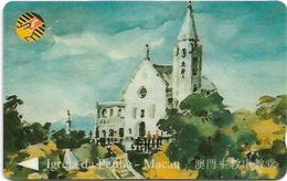 Macau - CTM (GPT) - Igreja Da Penha - 8MACC - 40.000ex, Used - Macau