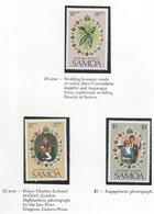 Samoa,1981, MNH, Royal Wedding Prince Charles & Lady Diana - Samoa
