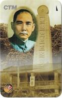 Macau - CTM - Intl. Phonecard Expo '95, Dr. Sun Yet-Sen, 15-17.9.1995, Commemorative Paper Card - Macao