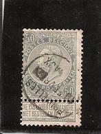 Belgique N°63 Bruxelles Journaux - 1893-1900 Fine Barbe
