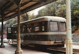 "09482 ""FERROVIE CALANBRO/LUCANE - LINEA CATANZARO CITTA'/CATANZARO LIDO - AUTOMOTRICE M1c EMMINA""  ANIMATA CART NON SPED - Treni"