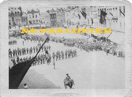 Document Unique Et Rarissime  Tournai 1914 3e Chasseurs (chakos) - Défilé Avant Déclaration De Guerre !!! - 1914-18
