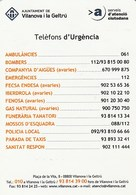 CALENDARIO - CALENDAR - AJUNTAMENT VILANOVA I LA GELTRU 2012 - Calendarios