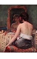 CPA - NU FEMININ - Tableau De E-A.DE MANDRE - Edition Lapina - Paintings
