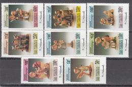 1993  Yvert Nº 1148 / 1155  MNH. Figuras De Cerámica De M.I. Hummel. - Cambodja