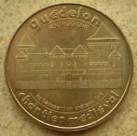 1 Médaille Monnaie De Paris GUEDELON CHANTIER MEDIEVAL 2010 - Monnaie De Paris