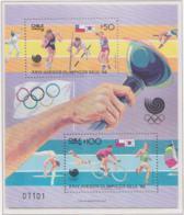 Chile 1988 Seoul Olympic Games Souvenir Sheet MNH/** (H58) - Estate 1988: Seul