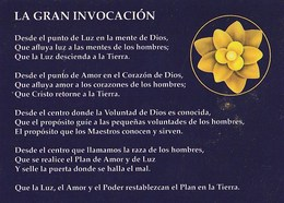 CALENDARIO - CALENDAR - LA GRAN INVOCACION 2015 - Tamaño Pequeño : 2001-...