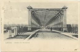 LIEGE  HERSTAL     PONT DE WANDRE      (ECRITE 1901  ) - Luik