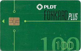 Philippines - PLDT (Chip) - Green Generic - Exp.30.09.2002, Chip Gem Red, Cn. GTD, 100₱, Used - Filippijnen