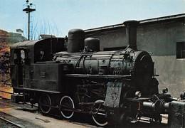 """09486 """"LINEA A CREMAGLIERA PAOLA/COSENZA - LOCOMOTIVA 981.001 DEL 1922""""   CART NON SPED - Treni"""